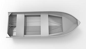 Cope 14ft Skiff, Cope Aluminum Boat Designs